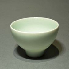 High celadon cup